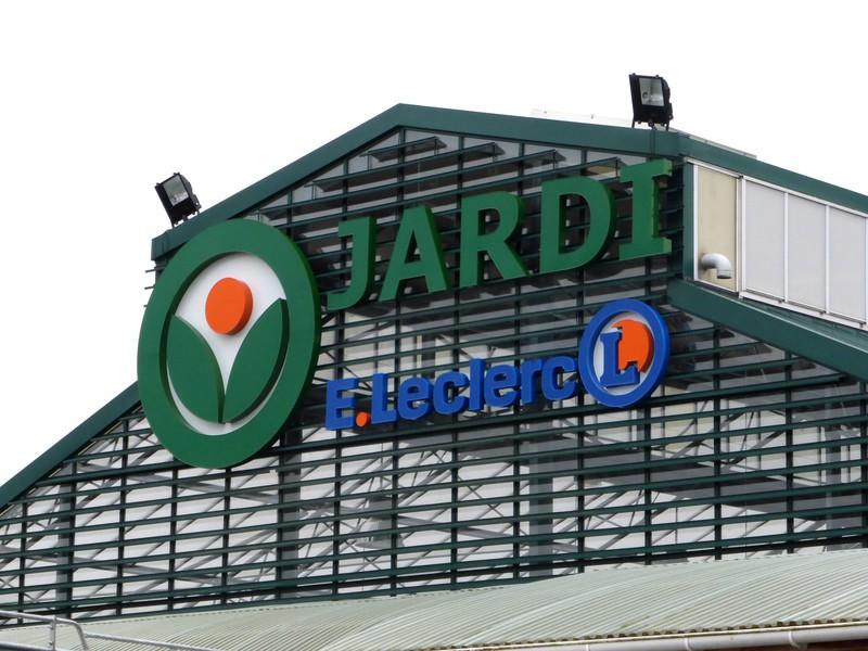 Enseigne relief pub colaut for Jardi leclerc carentan